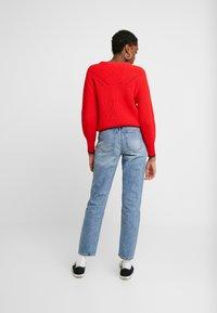 ONLY - ONLEMILY ANKLE - Jeans straight leg - medium blue denim - 2