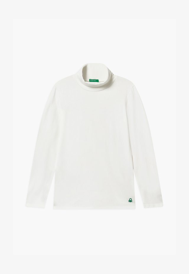 TURTLE NECK  - Topper langermet - white