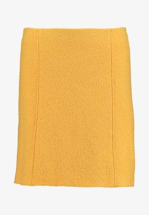 SKIRT SHORT STYLE - A-line skirt - amber wheat