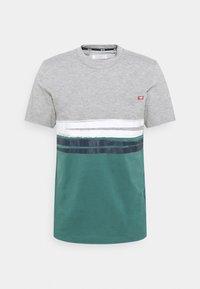 ALEX - Print T-shirt - midgrey melange