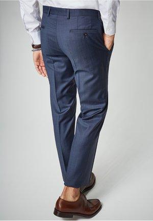 DAMIEN - Suit trousers -  blue
