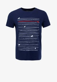 Pier One - T-shirt print - navy - 5