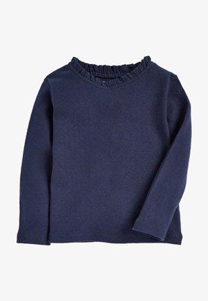 Top sdlouhým rukávem - blue