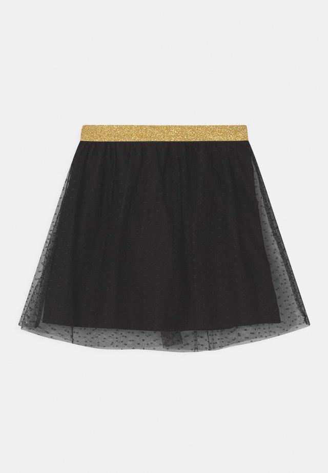 SMALL GIRLS - Minifalda - black