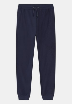 JUNIOR ACTIVE  - Tracksuit bottoms - bleu/deck blue