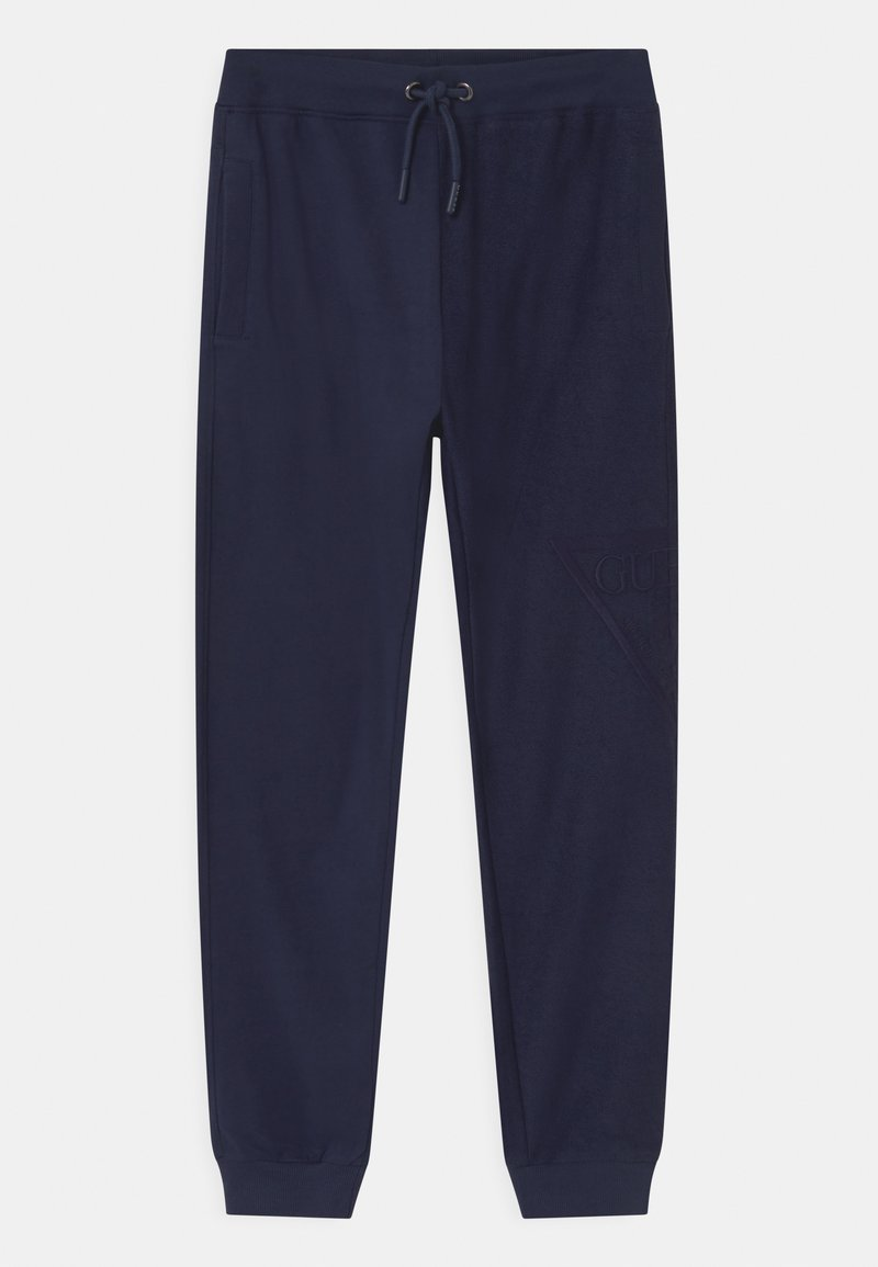 Guess - JUNIOR ACTIVE  - Pantaloni sportivi - bleu/deck blue