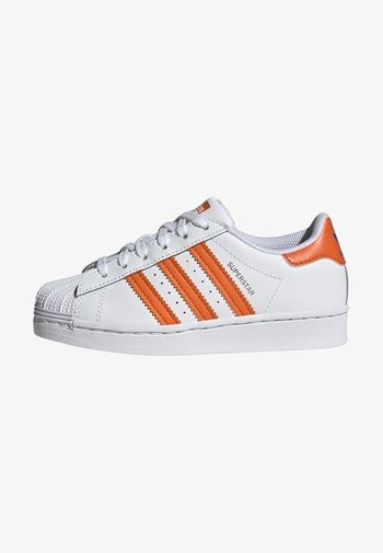 SUPERSTAR UNISEX - Sneakers - white/blue/gold