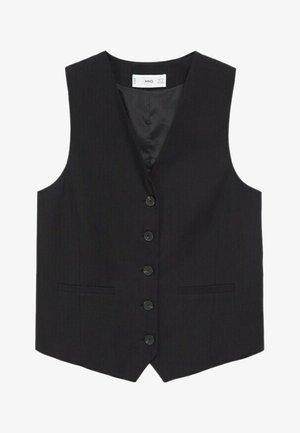 CHARLI - Waistcoat - black