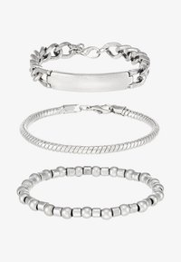 METALIX COMBO - Armbånd - silver-coloured