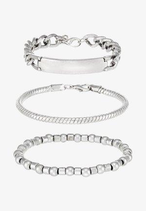 METALIX COMBO - Armbånd - silver-coloured
