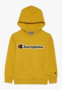 Champion - ROCHESTER LOGO HOODED - Hoodie - mustard yellow - 0