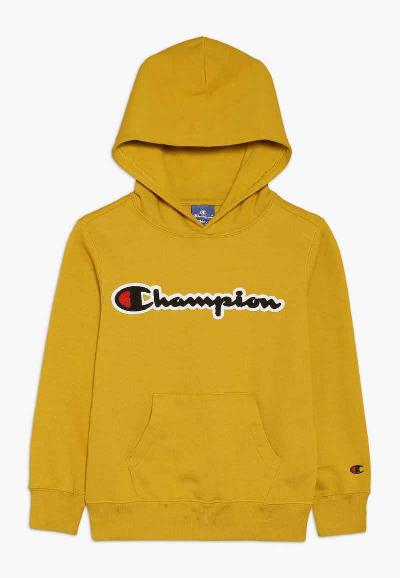 Champion - ROCHESTER LOGO HOODED - Hoodie - mustard yellow