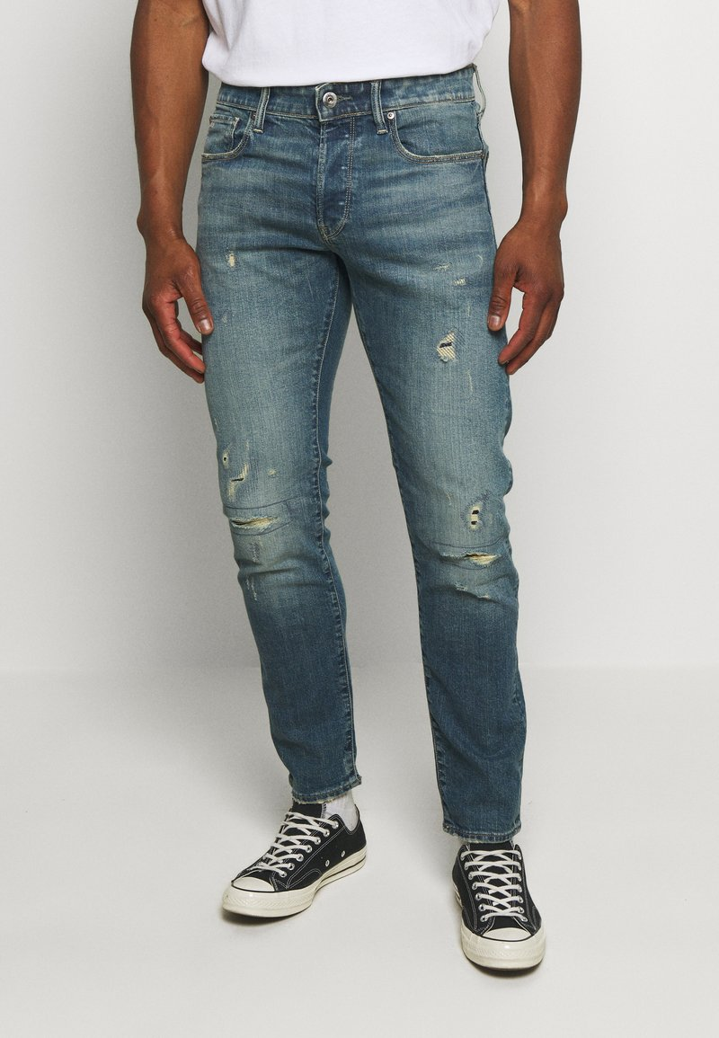 G-Star - 3301 SLIM C - Slim fit jeans - blue denim