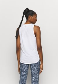 Cotton On Body - ACTIVE CURVE HEM TANK - Top - white - 2