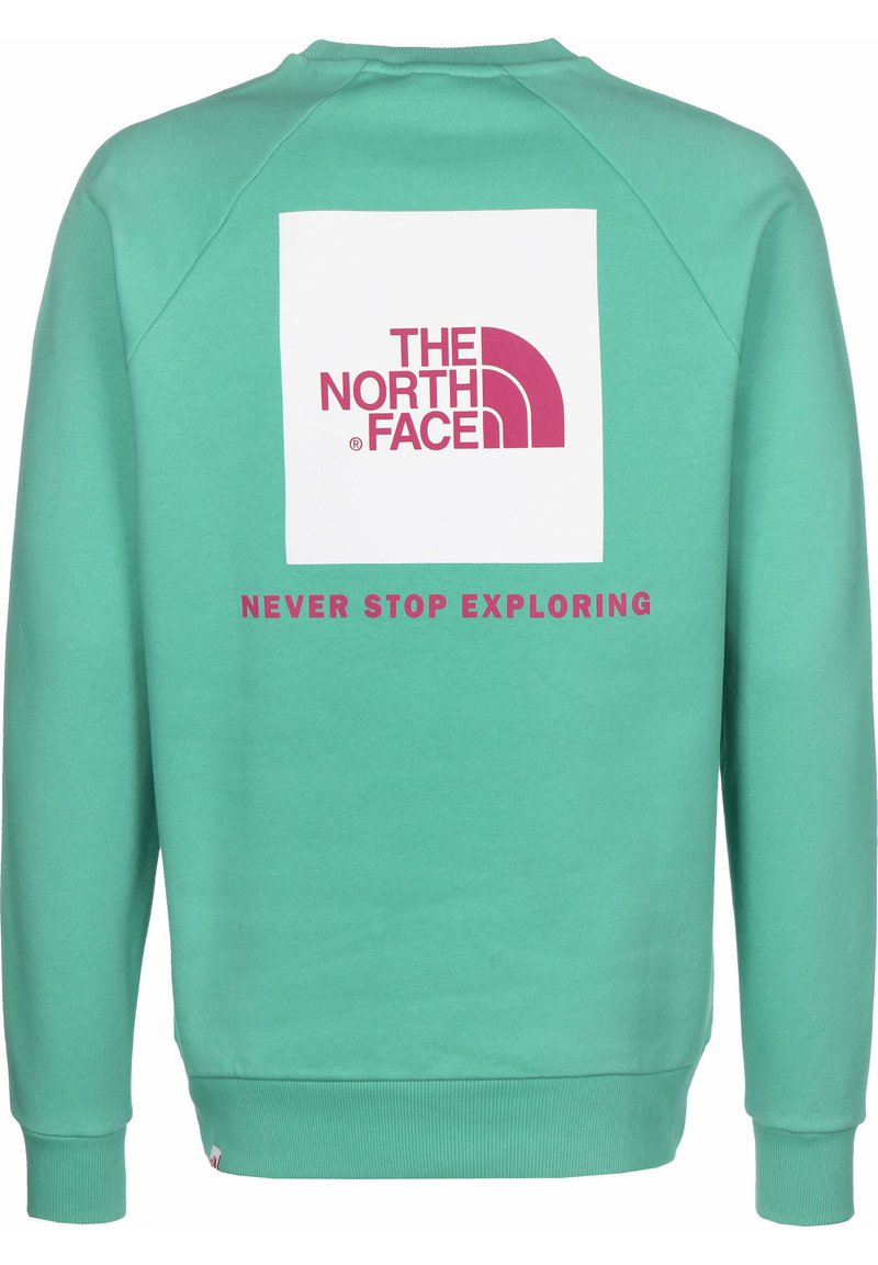 The North Face - RAGLAN BOX CREW - Sweatshirt - lagoon