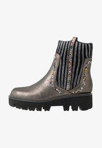 Alma en Pena - Platform ankle boots - pewter - 1