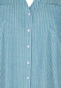 Zizzi - Blouse - blue stripe - 5