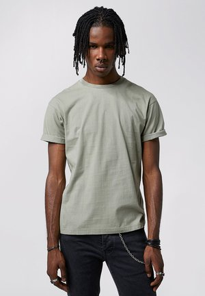 ZANDER - Basic T-shirt - pepper mint