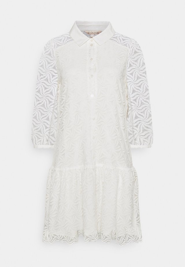 DRESS POPLIN COLLAR CUFF - Blousejurk - off white