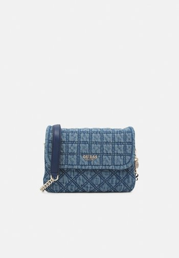 KAMINA FLAP - Handbag - denim