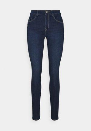 ONLRAIN MID WAIST SKINNY FULL LENGH - Jeans Skinny Fit - dark blue
