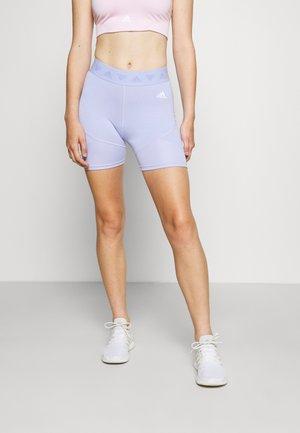 TRAINING WORKOUT SHORTS 1/4 - Sports shorts - violet tone