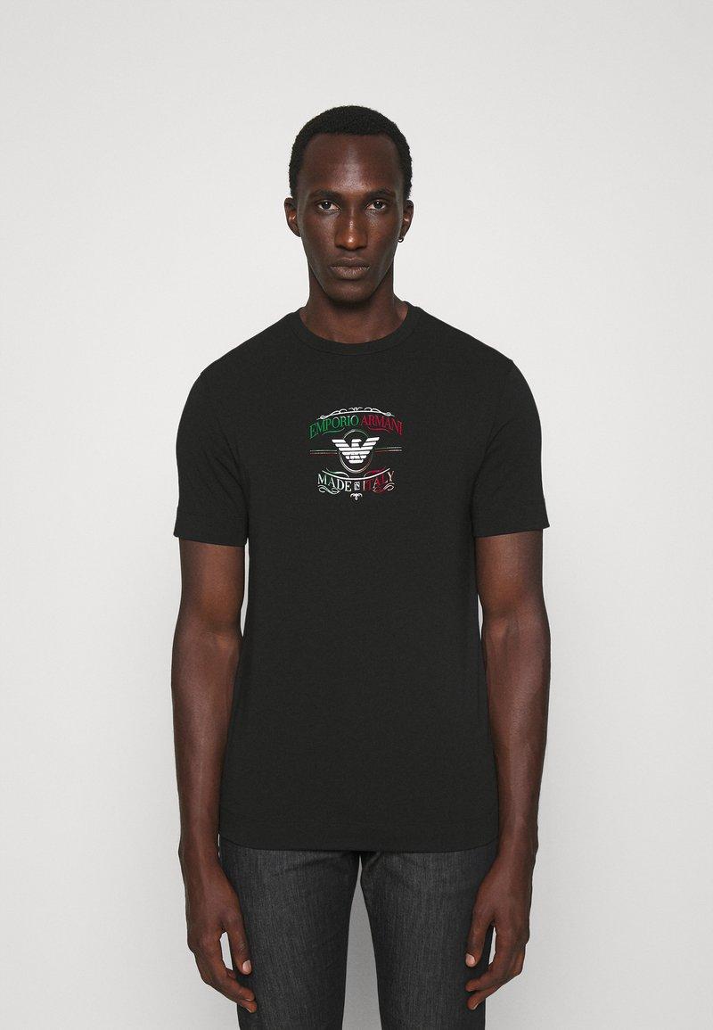 Emporio Armani - Print T-shirt - nero