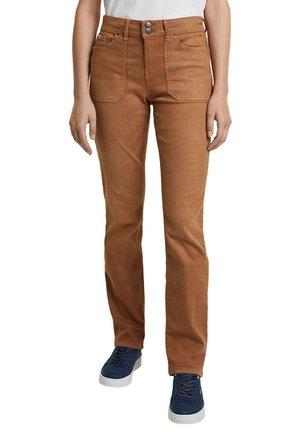 Jeans Straight Leg - caramel