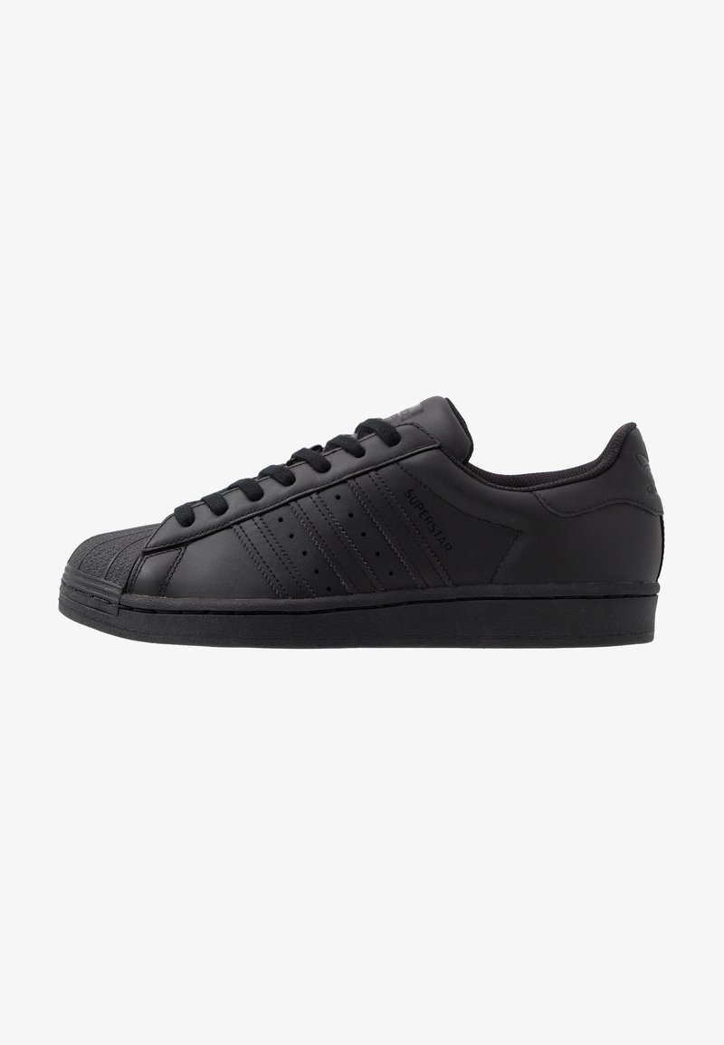 adidas Originals - SUPERSTAR - Sneakers laag - core black