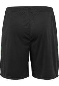 Hummel - DUO SET - Sports shorts - evergreen/black - 4