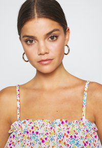 Topshop - FLORAL RUCHED SUNTOP - Top - multi coloured - 3