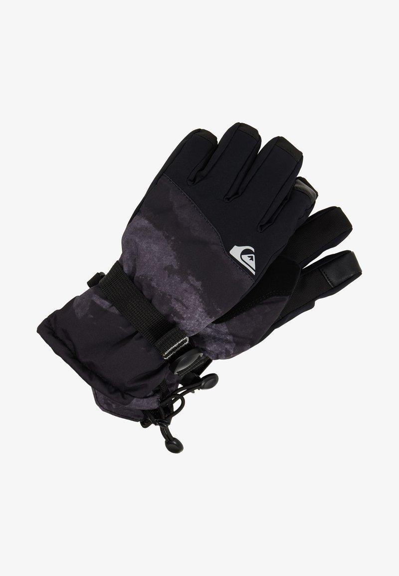 Quiksilver - MISSION YOU  - Fingerhandschuh - black matte