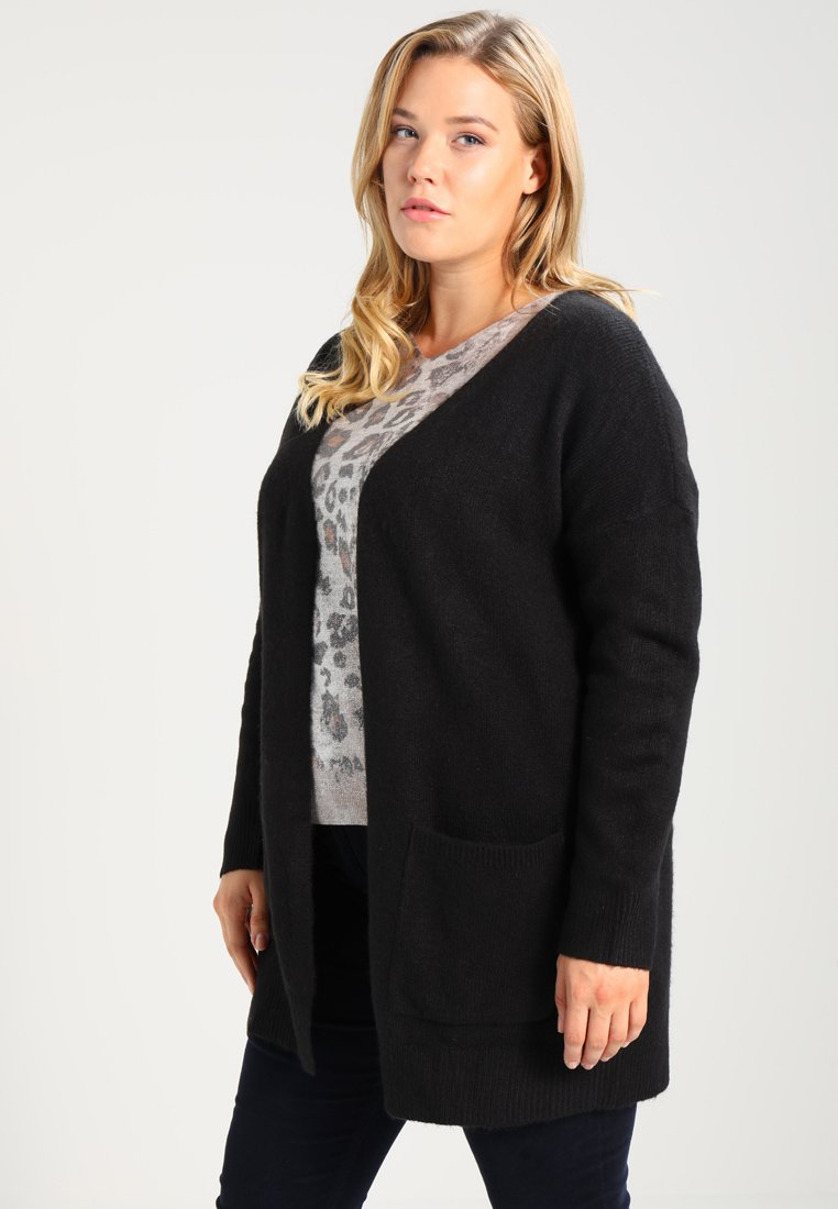 Zalando Essentials Curvy - Cardigan - black