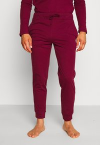 Pier One - 2 PACK - Bas de pyjama - dark blue/bordeaux - 1