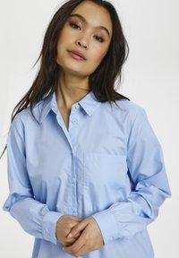 Kaffe - Shirt dress - chambray blue - 3