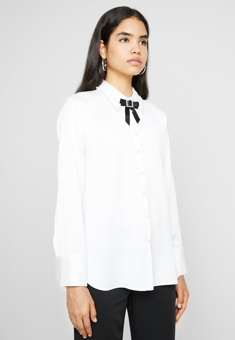River Island - Button-down blouse - white