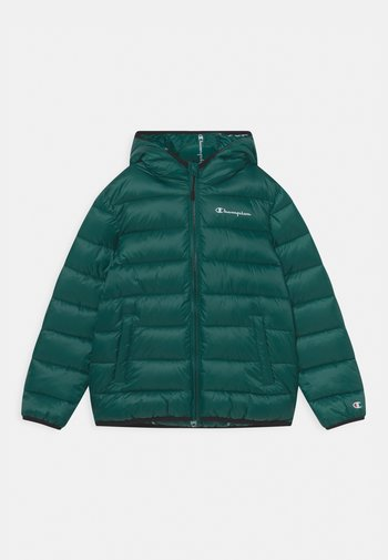 HOODED UNISEX - Winter jacket - green