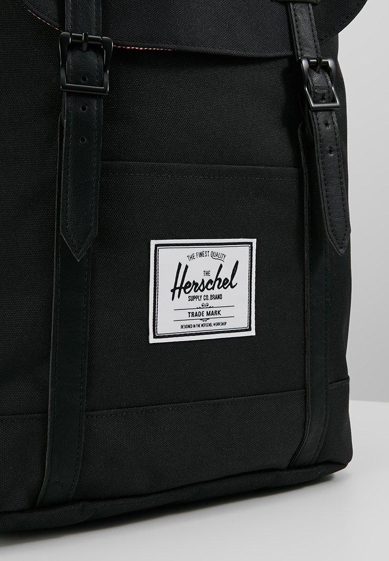 Herschel RETREAT - Tagesrucksack - noir/schwarz - Herrentaschen F3RpZ