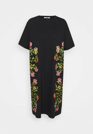 DRESS - Jersey dress - nero