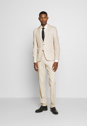 GENTS TAILORED FIT 2 BUTTON SUIT - Suit - offwhite