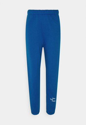 ENMONROE PANTS LOGO - Tracksuit bottoms - blue place