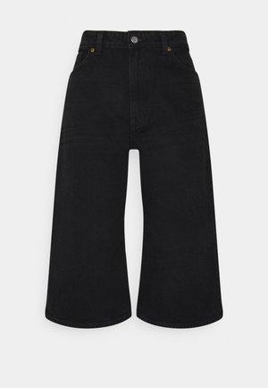 Jeansshorts - black dark