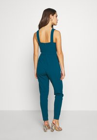 WAL G PETITE - PETITE EXCLUSIVE V NECK - Jumpsuit - teal - 2