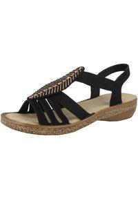 Rieker - Walking sandals - black - 2