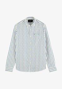 Scotch & Soda - REGULAR FIT COUPE MINI JACQUARD - Shirt - white - 3