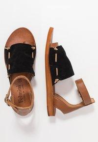 Felmini - CAROLINA  - T-bar sandals - black - 3