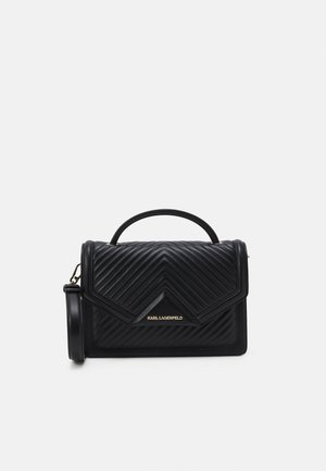 KLASSIK QUILTED SHOULDER BAG - Handbag - black
