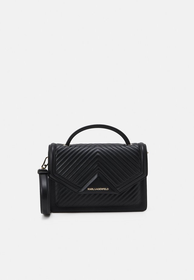 KLASSIK QUILTED SHOULDER BAG - Sac à main - black
