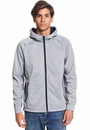 Zip-up hoodie - light grey heather