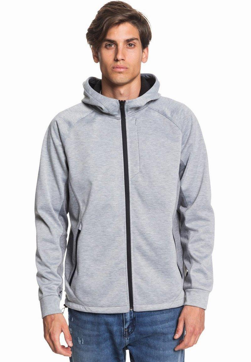 Quiksilver - Zip-up hoodie - light grey heather